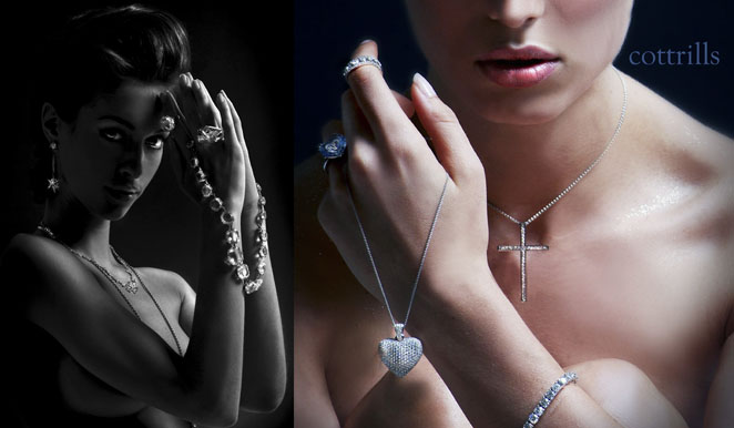 advertising photographer  james nader fashion photography - cottrills jewellery