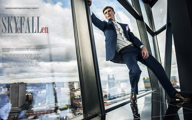 skyfall fashion editorial james nader - fashion photographer uk