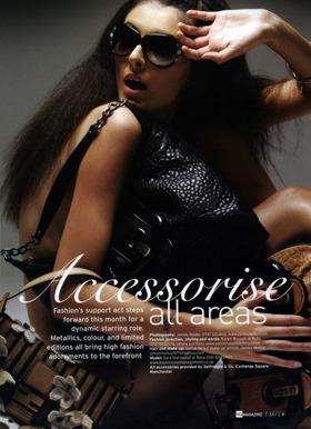 accessories photoshoot fashion photographer uk james nader prada bag